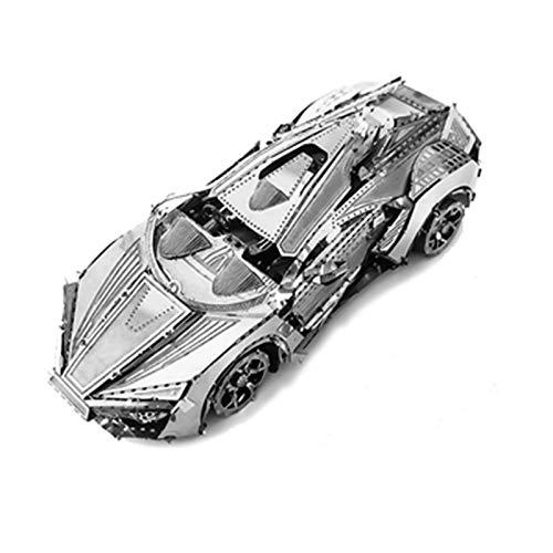 LKH 3D Puzzle Maquetas De Coches, Puzzles De Metal 3D para Adultos, Montaje De Bricolaje, Juguetes Educativos Creativos para Amigos Cumpleaños De Navidad para Niñ(Size:9.5×4.5×3cm)