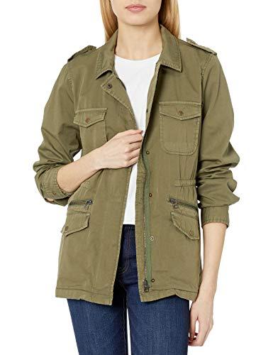 Velvet by Graham & Spencer Damen Ruby cotton twill jacket Jacke, Wald, X-Large