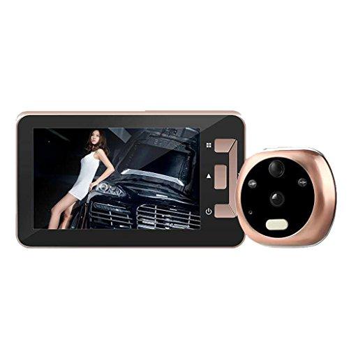 Preisvergleich Produktbild SIPOG Elektronische Smart Türklingel Familie Sicherheit Nachtsicht Kamera (4, 3 Zoll)