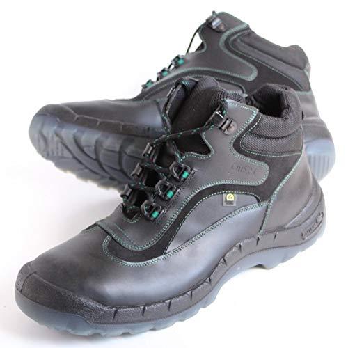 OTTER 93689 Sicherheitsschuh Sicherheitsschuhe Arbeitsschuhe Hoch Stiefel S2, Größe:38