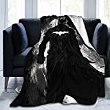 Luxury Blanket Batman Flannel Plush Blanket Fuzzy Soft Blanket Microfiber for Couch/Bed/Office,All Season Gifts