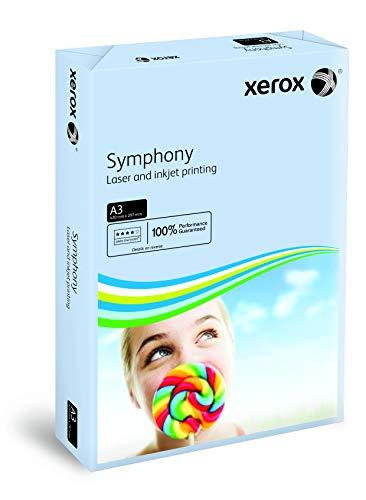 Xerox Symphony pastel - Papier de couleur Bleu pastel 80 g/m² A3 - Ramette de 500 feuilles