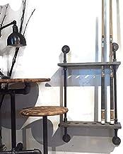 Pool Cue Rack Industrial pipe billiard display