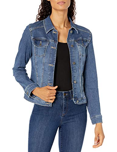 Riders by Lee Indigo Women's Stretch Denim Jacket, Weathered, Medium