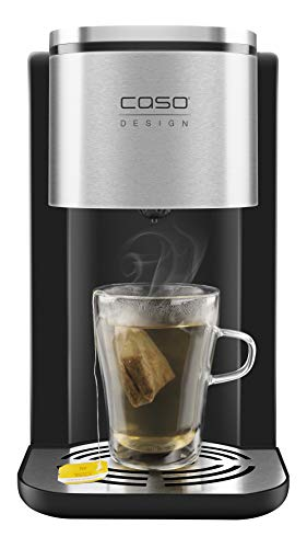 Caso Design Touch Turbo 8-Second Boil Hot Water Dispenser, Digital, Black
