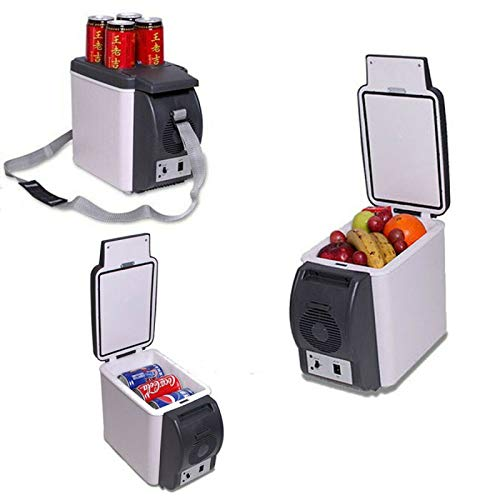 Tragbare Gefriertruhe, kleiner Kühlschrank Mini-Kühlschrank Kühler & Wärmer 6L Kein Kältemittel erforderlich