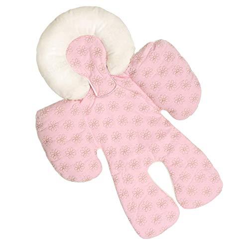 PRINDIY - Funda Universal para Asiento de Cochecito de bebé, de algodón, Transpirable, Color Rosa
