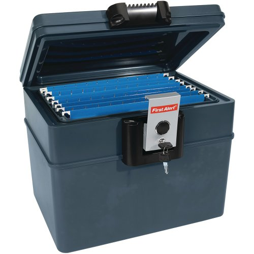 First Alert Waterproof Fire Resistant File Chest, 0.62 cu ft capacity  (2037F)