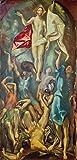 Kunstdruck/Poster: EL Greco Auferstehung Christi -