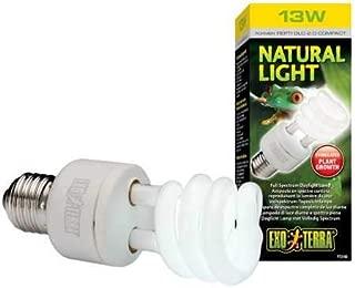 Exo Terra Repti-Glo 2.0 Compact Fluorescent Full Spectrum Terrarium Lamp (Natural Light)