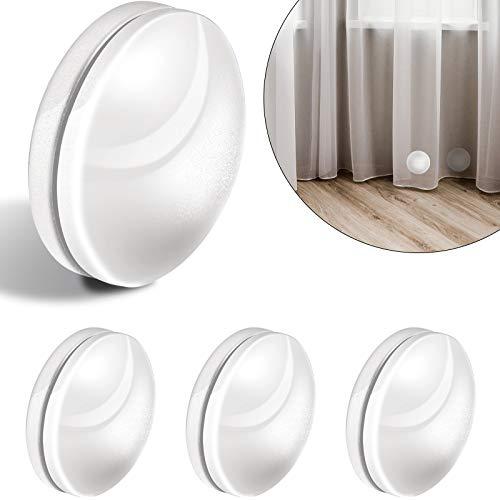 4 Paar magnetische Vorhanggewichte für Vorhänge, Magnet-Duschvorhang, Gewichte unten für Tischdecke, Vorhang Liner zum Schutz vor Blasen.