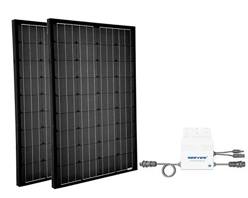 Mini Photovoltaikanlage 310Wp | Plug & Play Hausnetz-Direkteinspeisung Steckdose