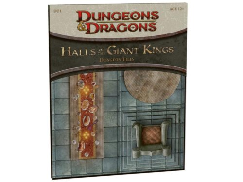 Halls of the Giant Kings: DU1 - Dungeon Tiles (D&D Accessory)