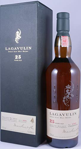 Lagavulin 1977 25 Years Limited Special Release 2002 Islay Single Malt Scotch Whisky Cask Strength 57,2% Vol. - one of 9000 bottles