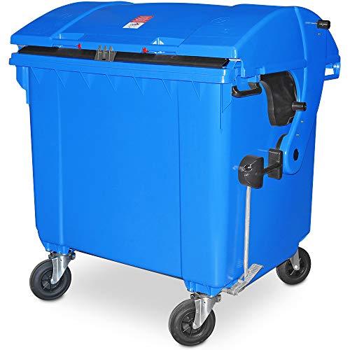 BRB 1100 Liter Großmüllbehälter/Müllcontainer nach EN 840, MGB blau