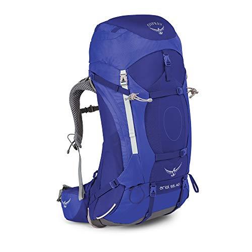 Osprey Ariel AG 55, sac de grande randonnée femme - Tidal Blue (WM)