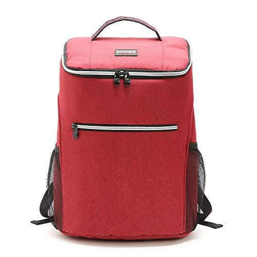 tianluo Cesta de Picnic 20l 600d Oxford Big Cooler Bag Termo Lunch Picnic Box Mochila Fresca Aislada Bolsa De Hielo Bolsas De Hombro Térmicas Portadoras Frescas