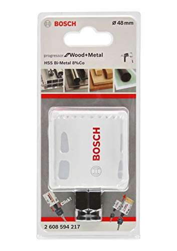 Bosch Professional Progressor for Wood and Metal Sierra de corona (para madera...