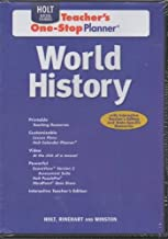 World History: Teacher One-Stop Planner CD-ROM