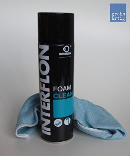 Interflon Foam Clean Schaumreiniger Sprühflasche 500ml inkl. Reinigungstuch