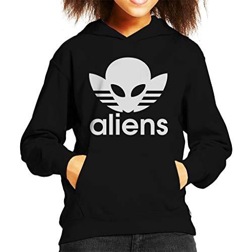 Cloud City 7 Aliens Mash Up Logo Kid's Hooded Sweatshirt