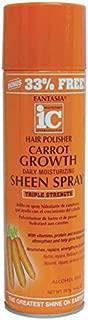 Fantasia Ic Hair Polisher Carrot Growth Sheen Spray 14 Oz
