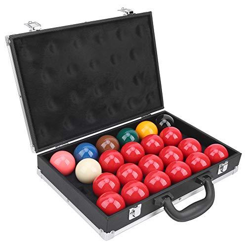 アメリカンタイプ22ボールスヌーカーセット、ボックス、ビリヤードボールコンテナー収納ボックス、ビリヤードビリヤードボール(ビリヤードサプライ)
