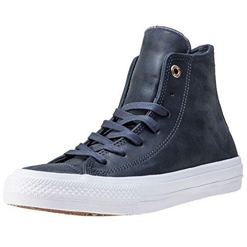 Converse Damen Chuck Taylor All Star II Craft Sneaker, dunkelgrau/weiß, 36.5 EU