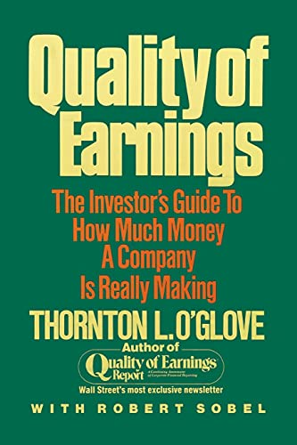 Quality of Earnings