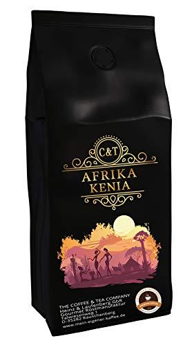 Kaffeespezialität Aus Afrika - Kaffee Aus Kenia - Eine Spezialität Afrikas (Ganze Bohnen, 1000g) - Länderkaffee - Spitzenkaffee - Säurearm - Schonend Und Frisch Geröstet