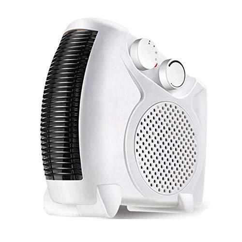 WZCXYX Calentador Ventilador Eléctrico Mini Calentador Eléctrico Portátil Calentador De Baño Ventilador Calentador Doméstico Termostato Ajustable