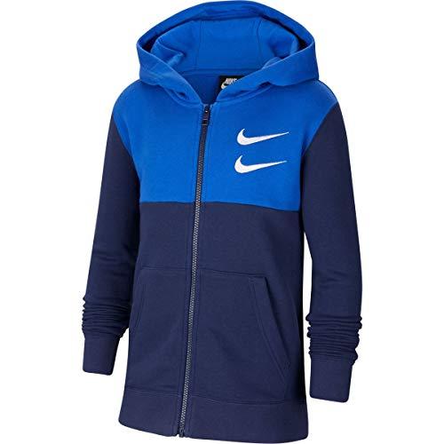 Nike - Sudadera con capucha para niño (talla L)