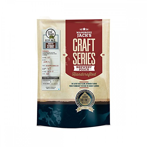 Mangrove Jack's Craft Series Kit de cerveza – Roasted Stout con lúpulo seco
