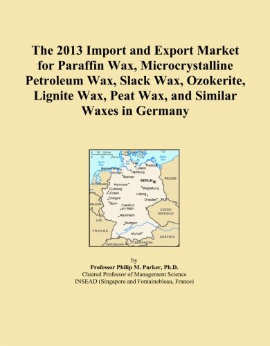 The 2013 Import and Export Market for Paraffin Wax, Microcrystalline Petroleum Wax, Slack Wax, Ozokerite, Lignite Wax, Peat Wax, and Similar Waxes in Germany