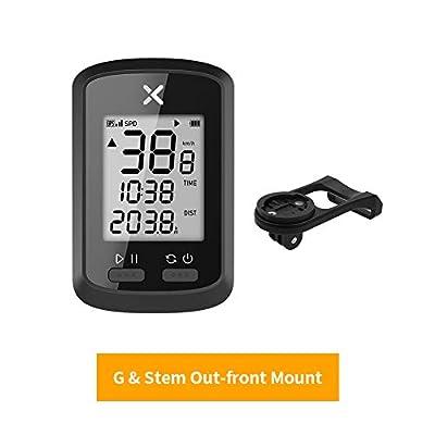 XOSS G GPS Cycling Computer Wireless Bike Speedometer Odometer Cycling Tracker Waterproof Road Bike MTB Bicycle Bluetooth (combo1)