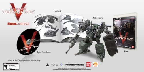 Armored Core Verdict Day Namco Exclusive Collectors Edition Sony PS3 Playstation 3 #/250