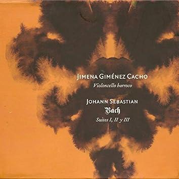 Johann Sebastian Bach: Suites I, II & III