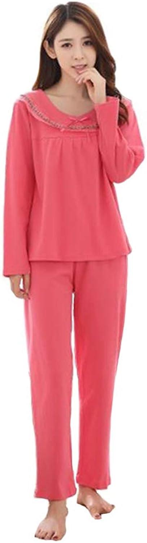 Naughtyspicy Women's Cotton Pajamas, Pajamas Sets 2 Piece, Long Sleeve Boat Neckline Pj Set Sleepwear Loungewear