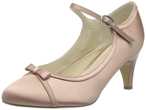 Paradox London Pink Damen April Brautschuhe, Pink (Blush 680), 41 EU