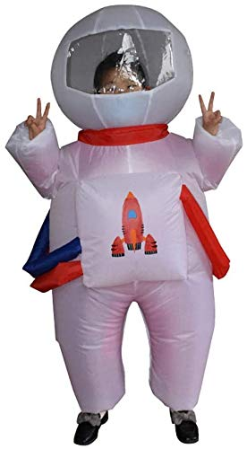 ZT Disfraz de fiesta disfraz inflable inflatable Halloween vestido de disfraces de lujo astronauta Clubes de ropa Cosplay traje divertido novedad cosplay para juegos de halloween y juegos de fiesta ni