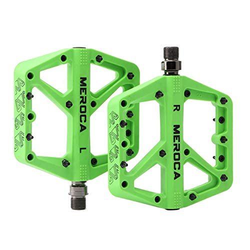 sharprepublic Pedales MTB Pedales de Bicicleta de montaña 3 rodamientos Antideslizantes Ligeros...