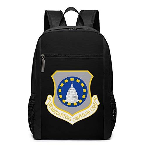 ZYWL US-Hauptquartier Befehl Laptop-Rucksack, Reiserucksäcke School College Bookbag für Frauen und Männer 17 Zoll
