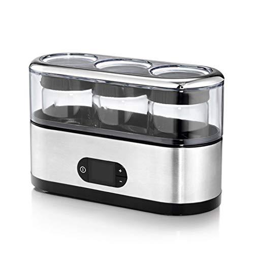 Lowest Price! ZSQAI Yogurt machine, home small automatic portable dispensing cup homemade yogurt fer...