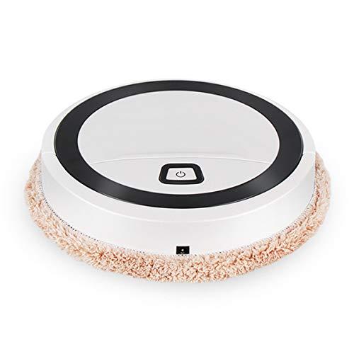 iFCOW Smart Sweeping Roboter, Smart Sweeping Roboter USB Auto Bodenwischmaschine trocken und nass Boden Reiniger Kehrmaschine mit UV-Licht