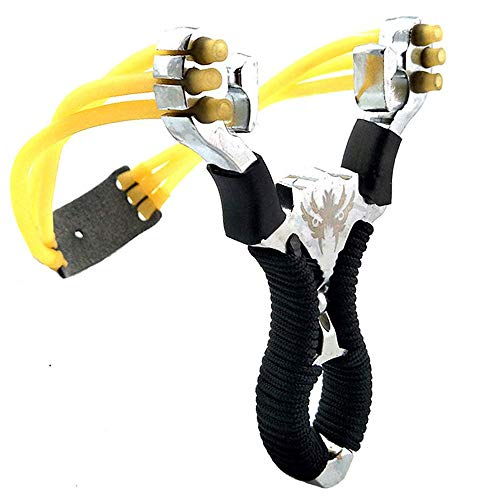 Wolike Stainless Steel Outdoor Hunting Slingshot Powerful Aluminium Alloy...