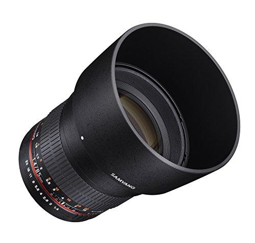 Samyang SY85M-FX Ultra Wide Objektiv für Fuji X Kameras (85 mm F1.4)