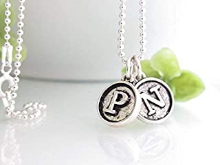 Typewriter Key Jewelry - Personalized Necklace for Mom