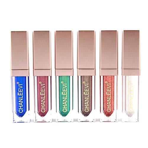 ZFXXN Ombre Glitter Oeil Liquide, Mettez en surbrillance Le Fard à paupières Perlite Liquide, Maquillage surligneur imperméable Durable Eye Shadow Gift Set