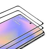 TAMOWA Vetro Temperato per Samsung Galaxy Note 20 (2 Pezzi), Copertura Completa Pellicola Protettiva in Vetro Temperato per Samsung Galaxy Note 20, Anti-Impronte Digitali, Anti-Graffi, Nero