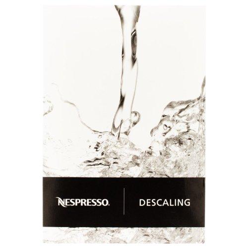 Nespresso Descaler 3035/CBU-2 per Essenza, Lattissima, Cube, Citiz, Pixie - Due kits per la decalcificazione